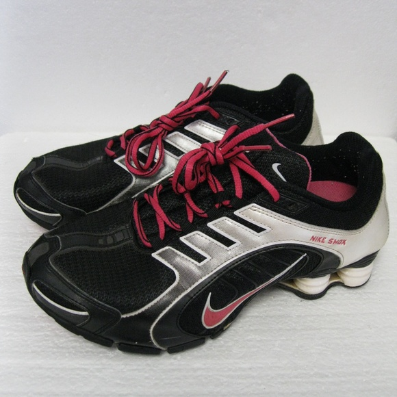 92189580a28fe5 ... real nike shox women athletic shoes size 9 af6cf 74437